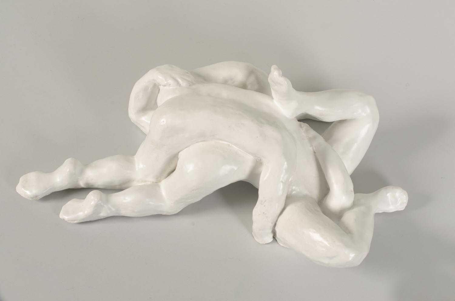'The Whole is Greater than the Sum of its Parts' III, ceramic with glaze, 14,5 X 40 X 26 cm, 2013