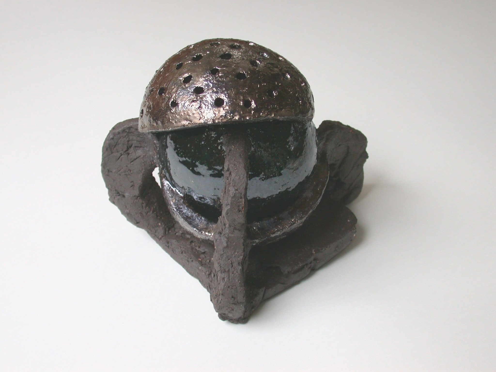 untitled, ceramic with glazes, 2006