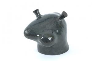 Golem, ceramic with glaze, 26 X 30 X 21.5, 2005