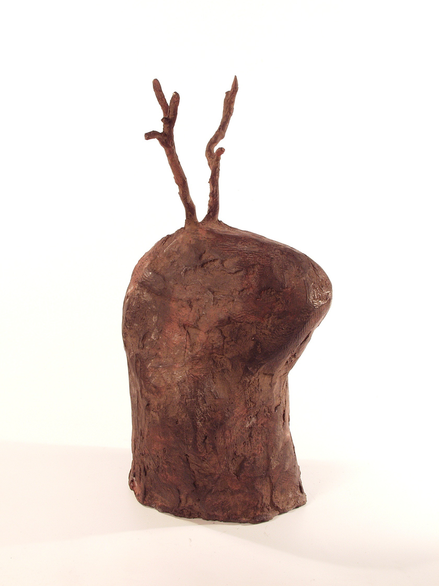 Prophet, bronze (edition of 3), 46 X 21.5 X 22 cm, 2004