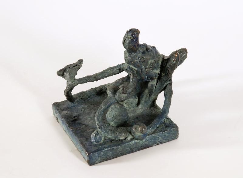 Mutation, bronze (unique cast), 13,5 X 16,5 X 14 cm, 2001