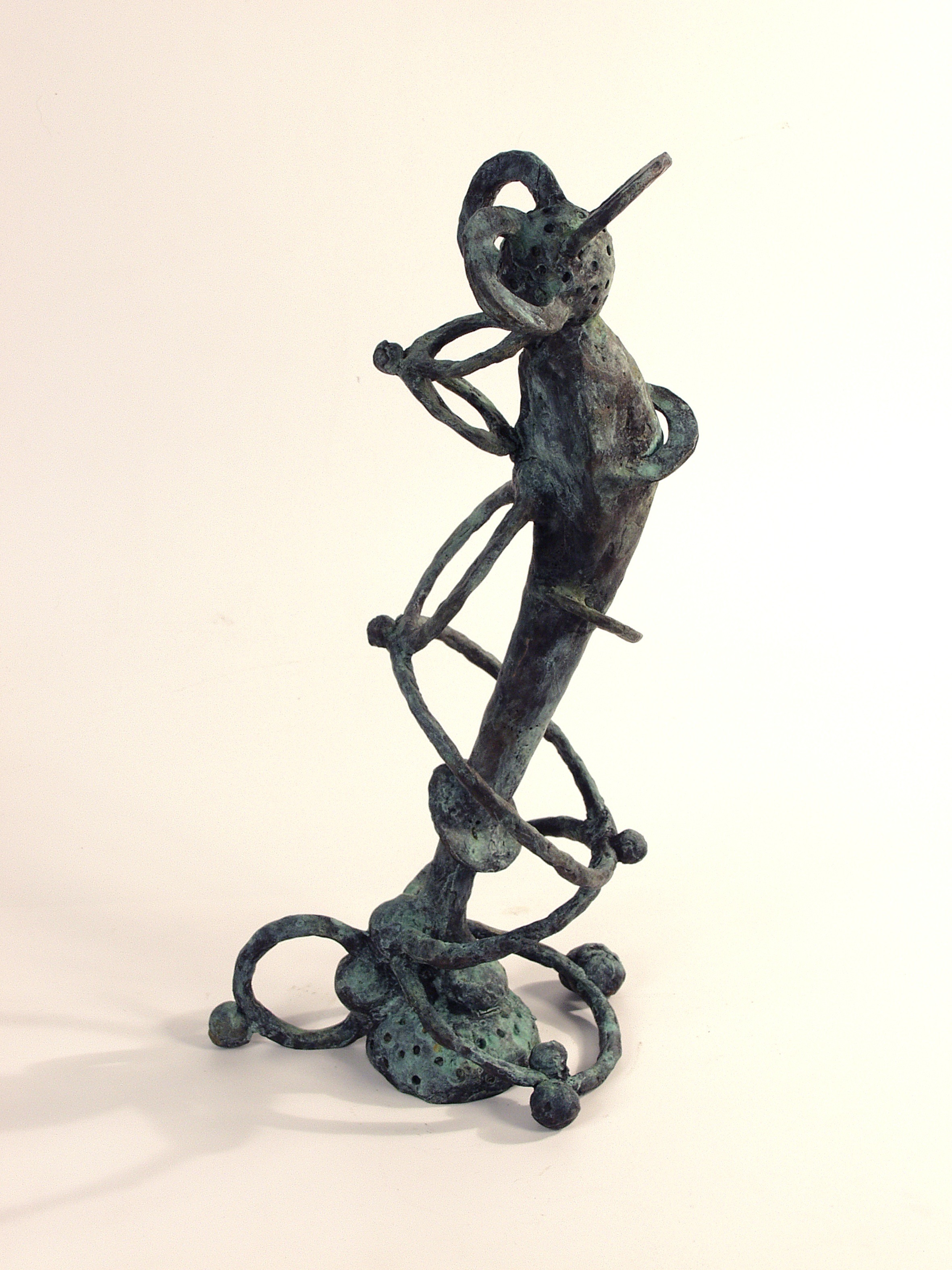 Dream Stalker, bronze (edition of 3), 50 X 17.5 X 22 cm, 2002