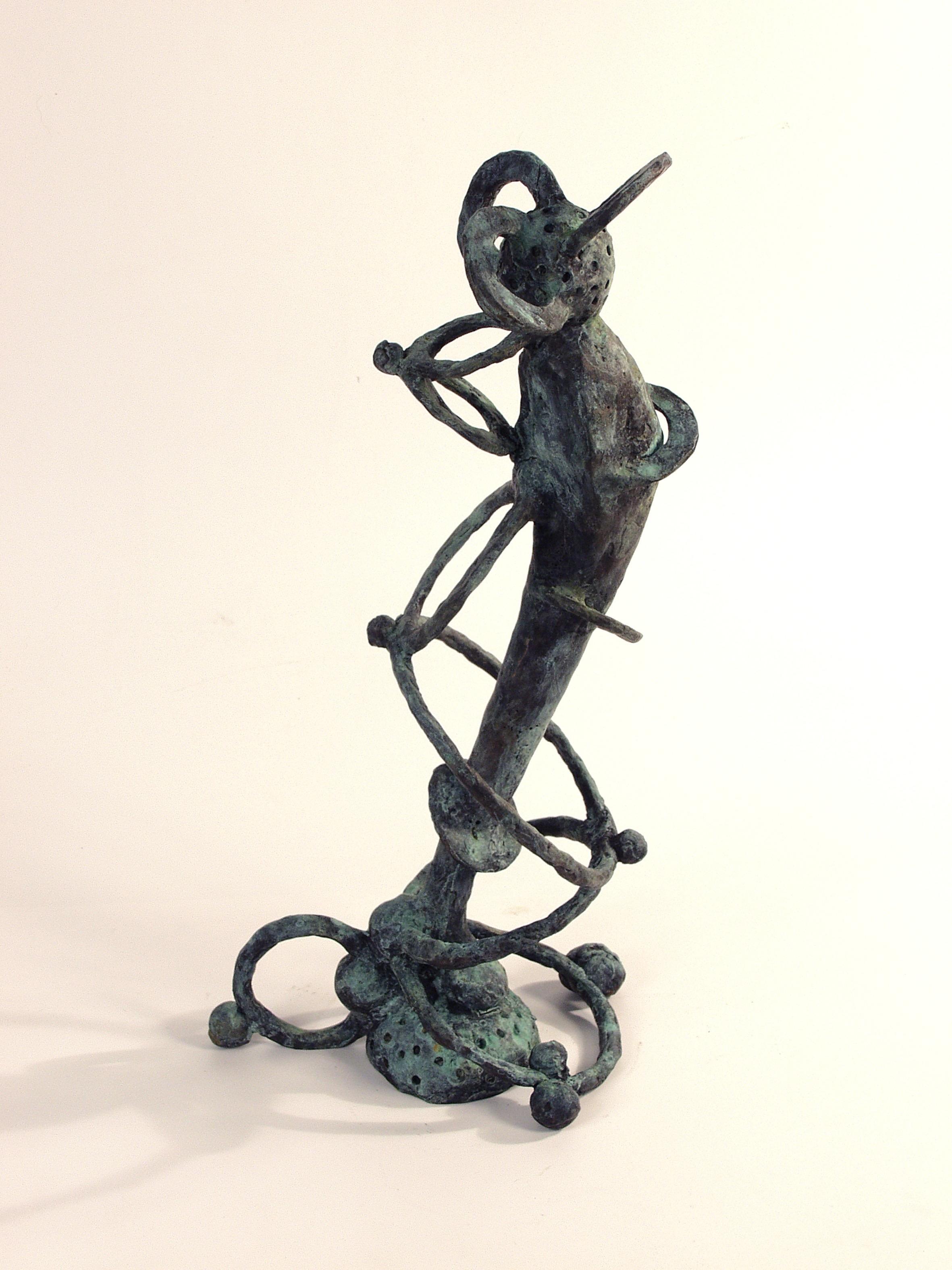 Dream Stalker, bronze (edition of 3), 50 X 17.5 X 22 cm, 2002