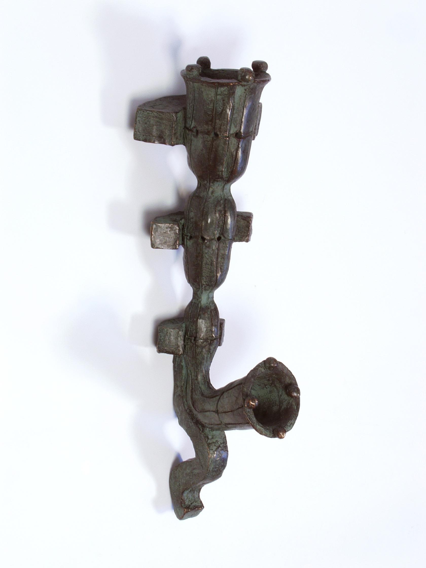 Pan, bronze (edition of 6), 49 X 16 X 18 cm, 2004