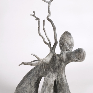 Watchman, bronze (edition of 6), 48 X 40 X 31 cm, 2008