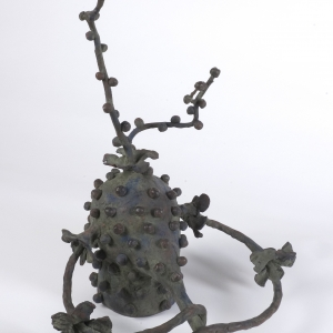 maquette for 'Satyr', bronze (unique cast), 47 X 38 X 30 cm, 2007