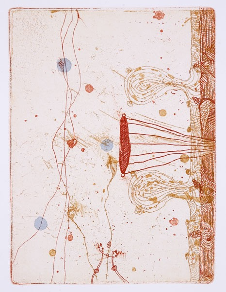 untitled, etching, edition 8, image size 20 X 15 cm, 2006