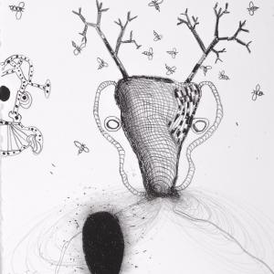 Honey, lithograph, 30 X 27 cm, 2012