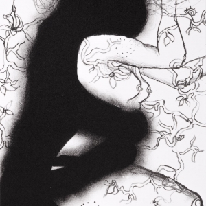 'Persephone' series, lithograph, 21 X 15 cm, 2012