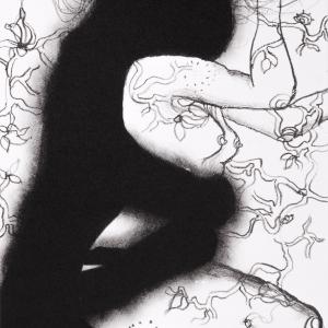 'Persephone' series, lithograph, 21 X 15 cm, 2012