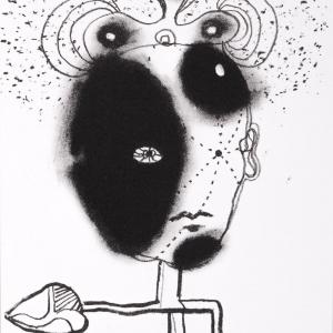 Self Portrait as Plant, 21 X 15 cm, 2012