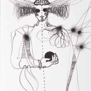 The Wizard, lithograph, 21 X 15 cm, 2012