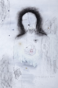 Et in Arcadia Ego, mixed media on paper, 100 X 70 cm, 2011