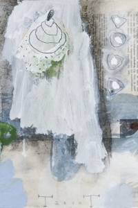 'Natural History' series, mixed media on paper on canvas, 30 X 40 cm, 2010