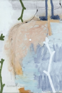 'Natural History' series, mixed media on paper on canvas, 40 X 40 cm, 2010